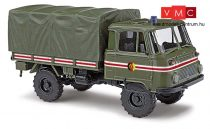 Busch 50228 Robur LO 2002 katonai teherautó, Kommandantend./Führung (H0)