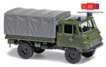 Busch 50229 Robur LO 2002 A ponyvás teherautó, Bereitschaftspolizei (H0)