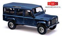 Busch 50352 Land Rover Defender, metál színben - kék (H0)