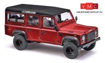 Busch 50353 Land Rover Defender, metál színben - piros (H0)