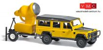 Busch 50355 Land Rover Defender hóágyús utánfutóval (H0)