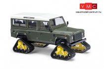 Busch 50365 Land Rover Defender, lánctalpas futóművel (H0)