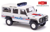 Busch 50366 Land Rover Defender, francia rendőrség (H0)