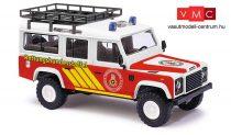 Busch 50370 Land Rover Defender, speciális kutyás mentőegység (H0)