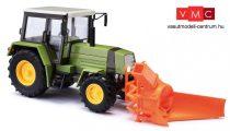 Busch 50419 Fortschritt ZT 323 traktor, hómaró adapterrel (H0)