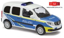 Busch 50659 Mercedes Benz Citan Kombi autópályarendőrség - Autobahnpolizei (H0)