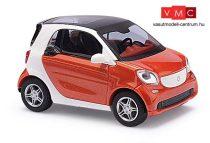 Busch 50701 Smart Fortwo 2014, CMD, vörösesnarancs (H0)