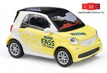 Busch 50712 Smart Fortwo Coupé 2014, Veltins Zitrone (H0)