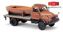 Busch 50813 Hanomag AL 28 platós teherautó csónak rakománnyal (H0)