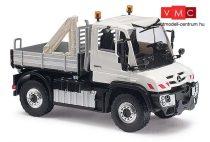 Busch 50910 Unimog U 430 rakodódaruval és védőráccsal (H0)