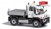 Busch 50916 Unimog U 430 platós, fehér (H0)