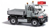 Busch 50917 Unimog U 430 platós, ezüst (H0)