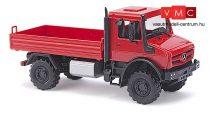 Busch 51007 Unimog U 5023 platós, piros - CMD (H0)