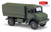 Busch 51017 Unimog U 5023 katonai ponyvás teherautó (H0)
