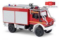 Busch 51053 Unimog U 5023 erdei tűzoltó, bukócsövekkel - Feuerwehr (H0)