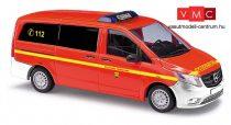 Busch 51114 Mercedes-Benz Vito tűzoltó - FW Halstenbek (H0)