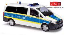 Busch 51127 Mercedes-Benz Vito (2014), német autópálya rendőrség - Autobahnpolizei (H0)
