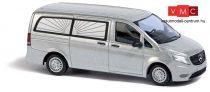 Busch 51130 Mercedes-Benz Vito (2014), ezüst, halottaskocsi (H0)