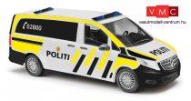 Busch 51167 Mercedes-Benz V-Klasse, norvég rendőrség - Politi (H0)