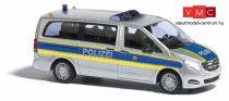 Busch 51170 Mercedes-Benz V-Klasse, rendőrség - Autobahnpolizei (H0)