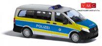 Busch 51171 Mercedes-Benz V-Klasse, rendőrség - Baden-Württemberg (H0)