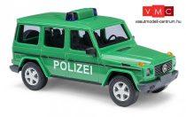Busch 51410 Mercedes-Benz G-Klasse 90, rendőrség - Polizei (H0)