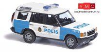 Busch 51921 Land Rover Discovery, svéd rendőrség, Polis (H0)