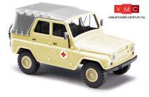 Busch 52109 UAZ 469 ponyvatetős mentő - DRK (H0)