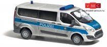 Busch 52414 Ford Transit Custom német rendőrség, Polizei Berlin (H0)