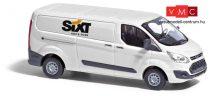 Busch 52419 Ford Transit Custom, dobozos, Sixt (H0)