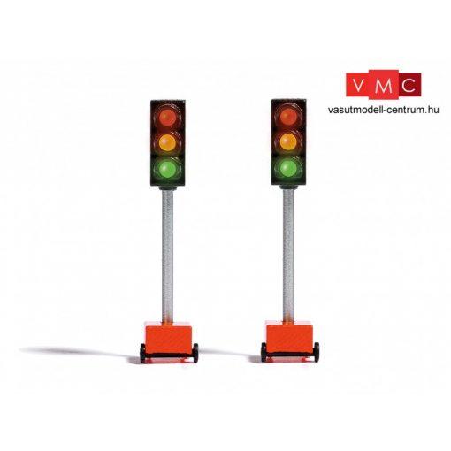 Busch 5451 Kerekes közlekedési lámpa útépítésekhez (H0)