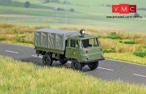 Busch 5668 Robur ponyvás katonai teherautó, világító tetőreflektorral (H0)