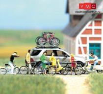 Busch 6013 Kerékpár készlet 2 db Vespa robogóval (H0)
