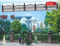 Busch 6016 Kovácsoltvas kerítés kapuval (H0)