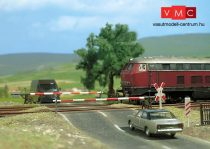 Busch 6021 Vasúti sorompós útátjáró, kiegészítőkkel (H0)