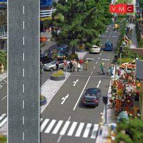 Busch 6039 Útburkolat: országút, betonozott, felezővonallal (H0)