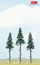 Busch 6114 Magastörzsű fenyőfa (3 db) (H0)
