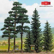 Busch 6393 Luc- és erdeifenyő erdő, 8 db (H0)