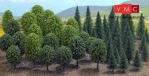 Busch 6491 Vegyes erdő (50 db) (H0)