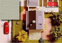 Busch 7035 Dekorlap: Viacolor térkő (2 db) (H0)