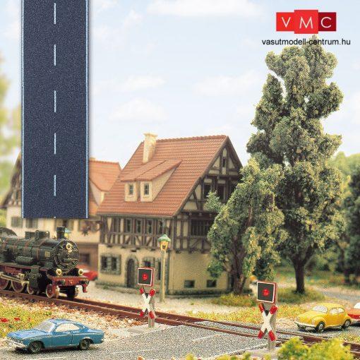Busch 7081 Útburkolat: országút, aszfaltozott, felezővonallal (Z)