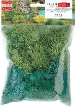 Busch 7102 Izlandi moszat (35 g), világos- és sötétzöld (H0/N/TT/Z)