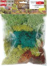 Busch 7105 Izlandi moszat (70 g), 4 színben (H0/N/TT/Z)