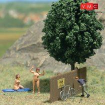 Busch 7669 Mini-jelenet: Nudistastrand (H0)