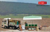 Busch 7726 Mini-Welt: Spárgaárusítás, Multicar teherautóval (H0)
