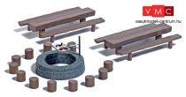 Busch 7781 Mini-Set: Erdei sütögetőhely (H0)