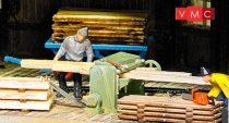 Busch 7850 Famegmunkáló gépek fa alapanyagokkal - LC (H0)