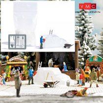 Busch 7857 Action-Set: Jégszobrászok, jégfaragók (H0)