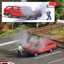 Busch 7881 Action-Set: Motortüzet oltó férfi (H0)
