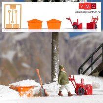 Busch 8058 Téli hótakarító berendezések és eszközök (N)